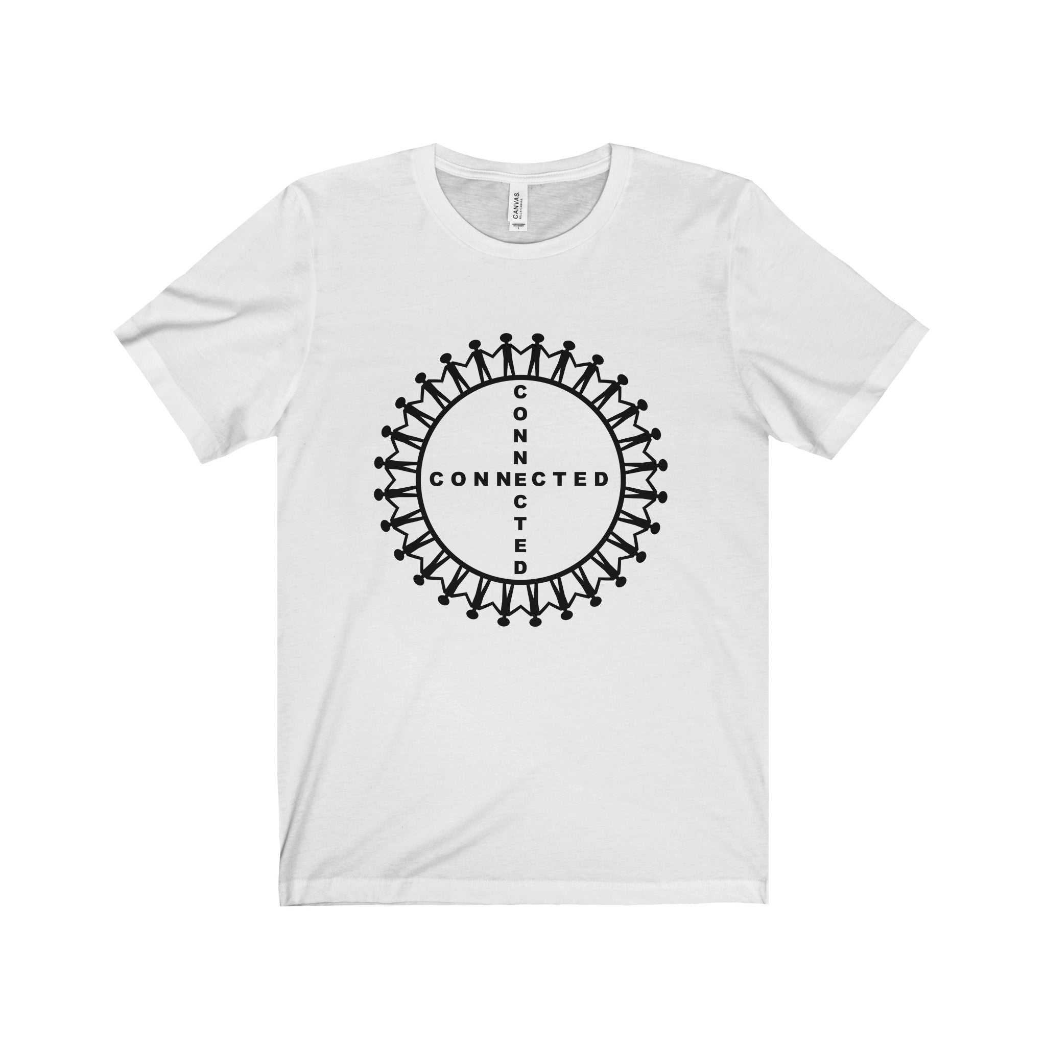 Connected Black Letter Tee (5 colors available)
