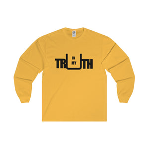 In My Truth Black Letter Long Sleeve Tee (5 colors available)