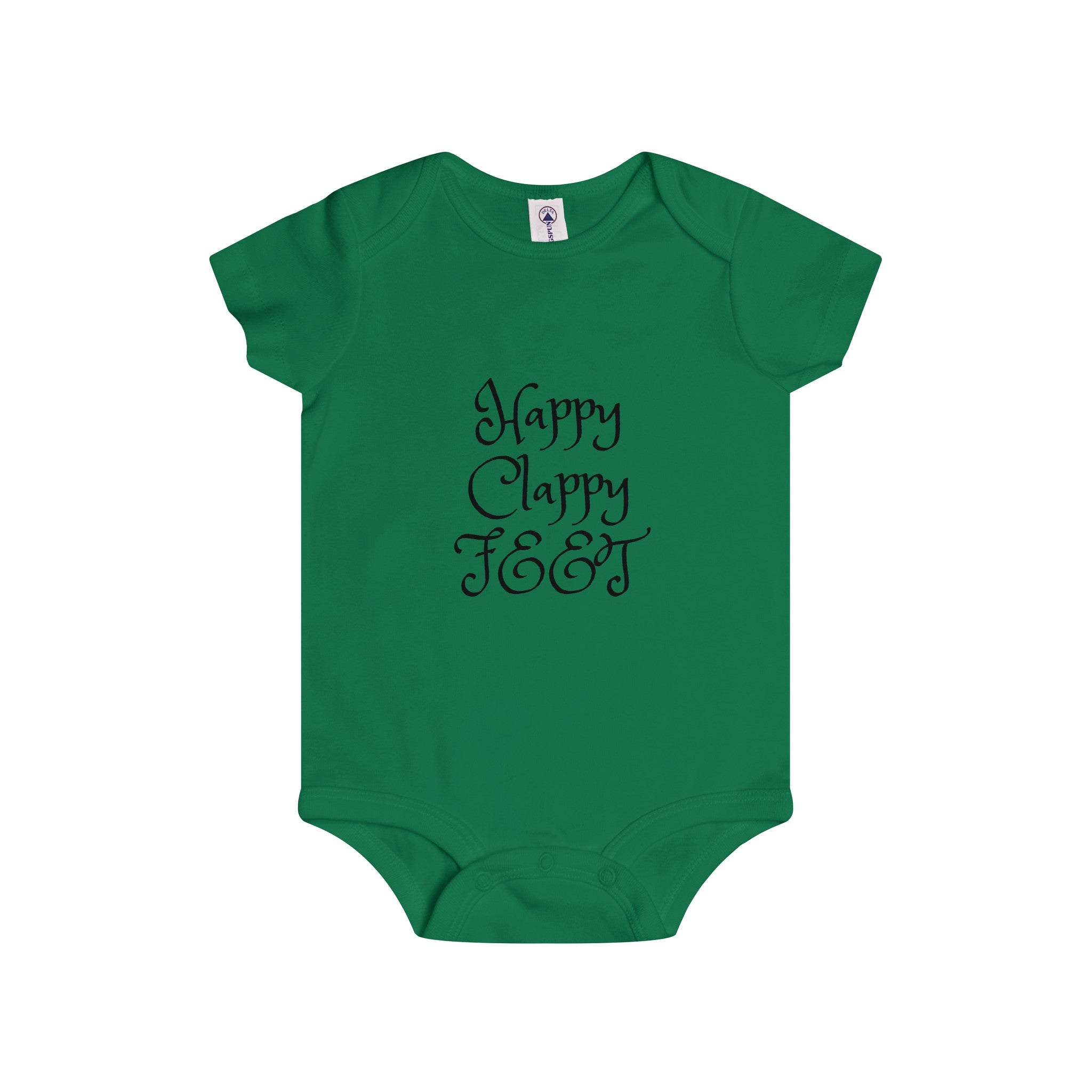 Happy Clappy Feet Onesie (5 colors available)