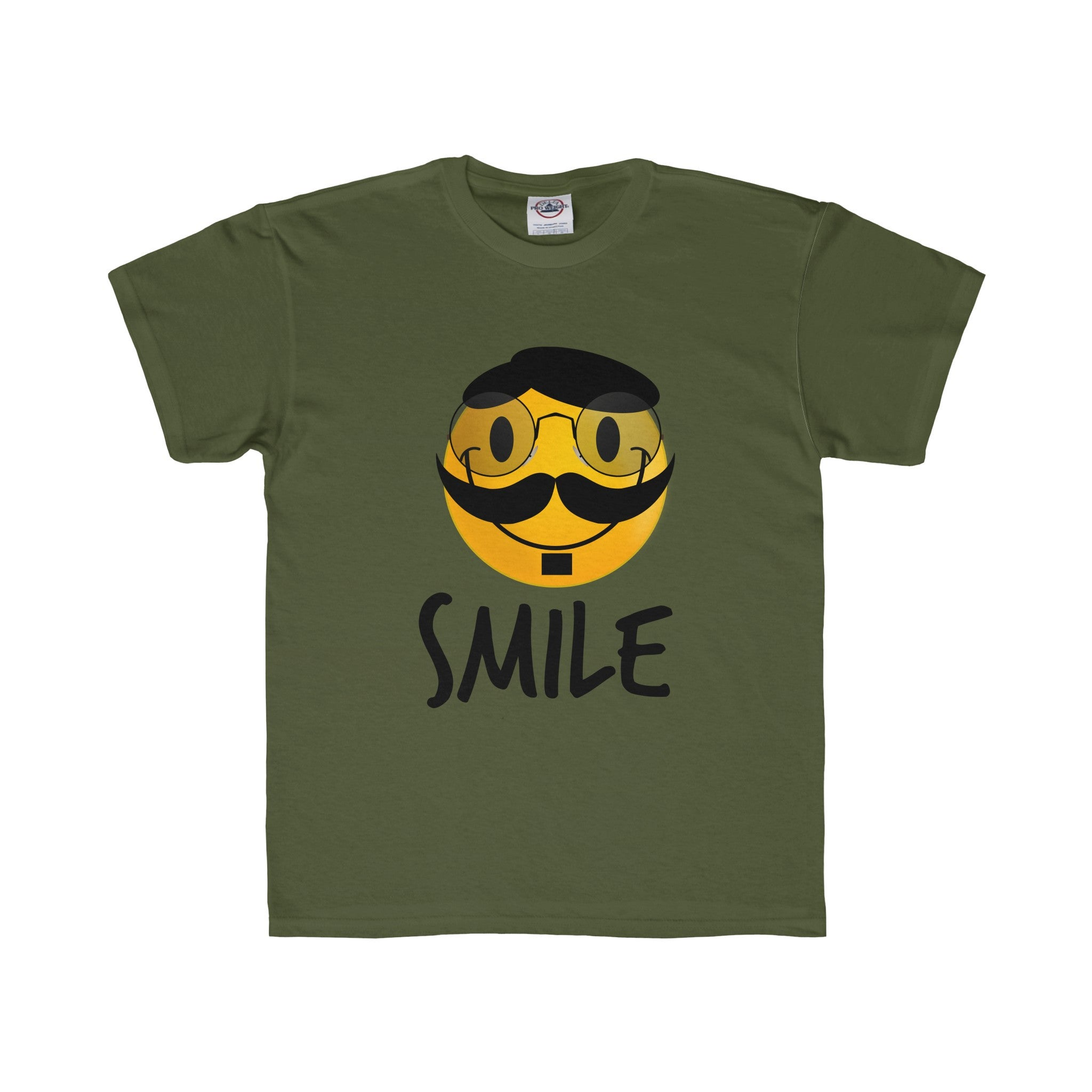 Professor Smiley Face Tee (5 colors available)