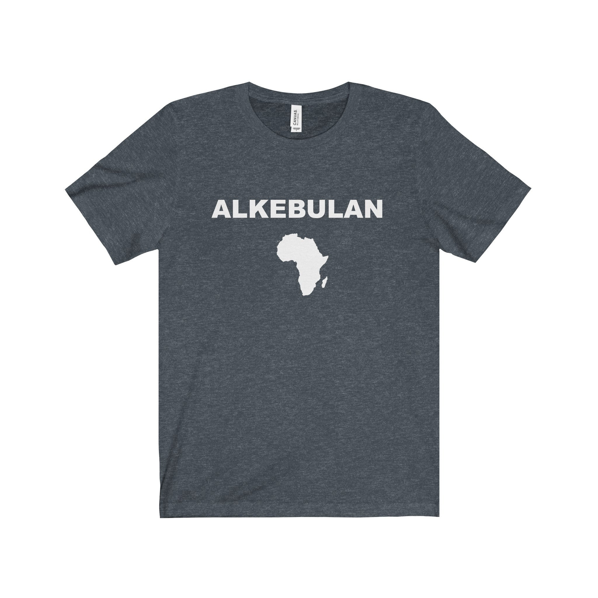 ALKEBULAN Black Letter Tee (4 colors available)