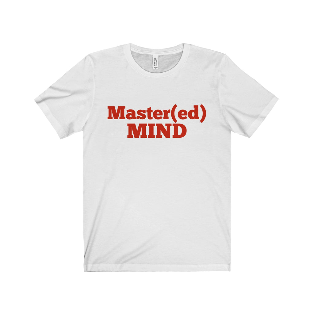 Master Mind Red Letter Tee (2 colors available)