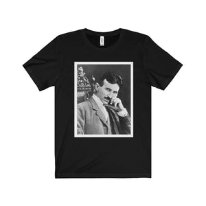Nikola Tesla Tee (4 colors available)
