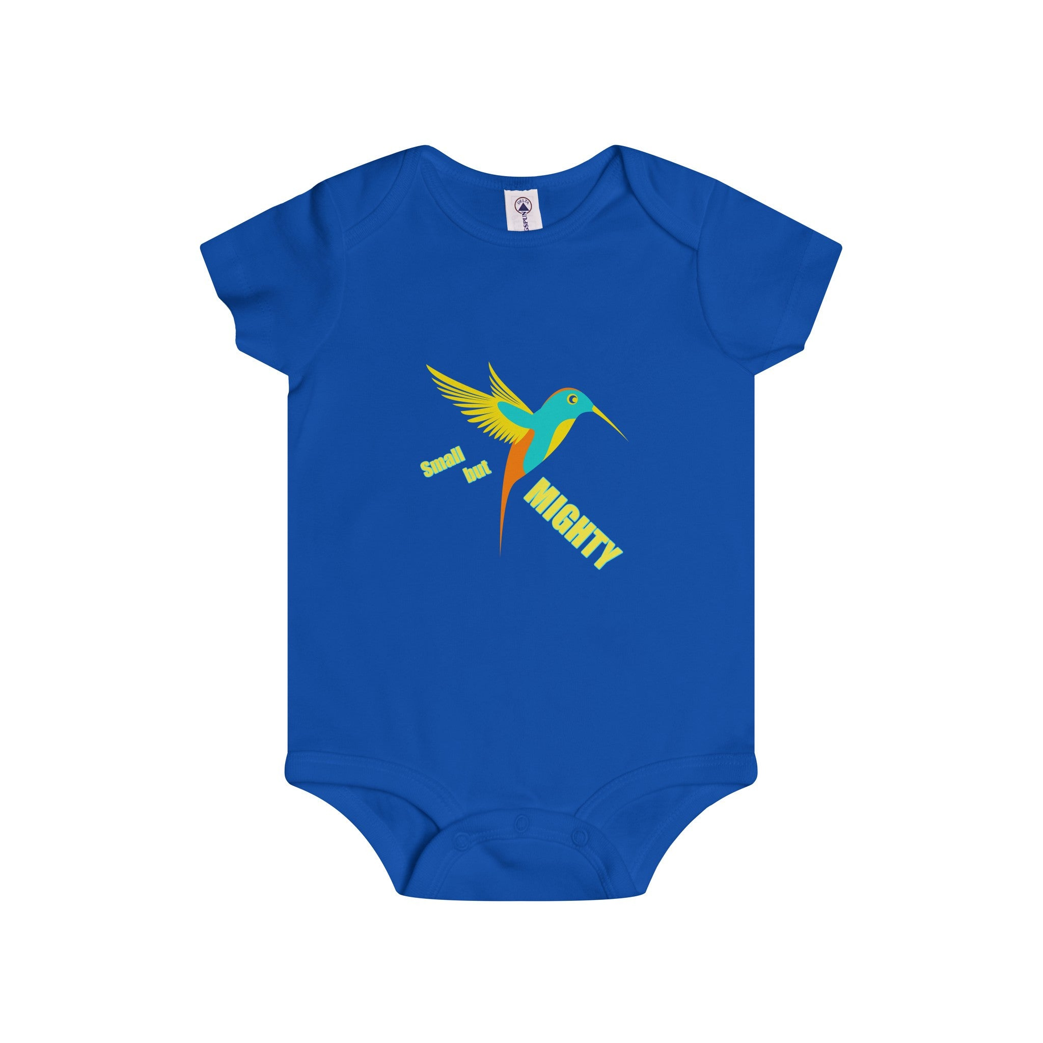 Small But Mighty Multi-color Design Onesie (3 colors available)