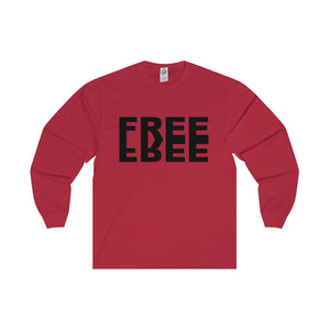 Free Black Letter Long Sleeve Tee (7 colors available)
