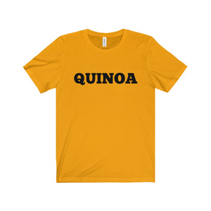 QUINOA Black Letter Tee (6 colors available)