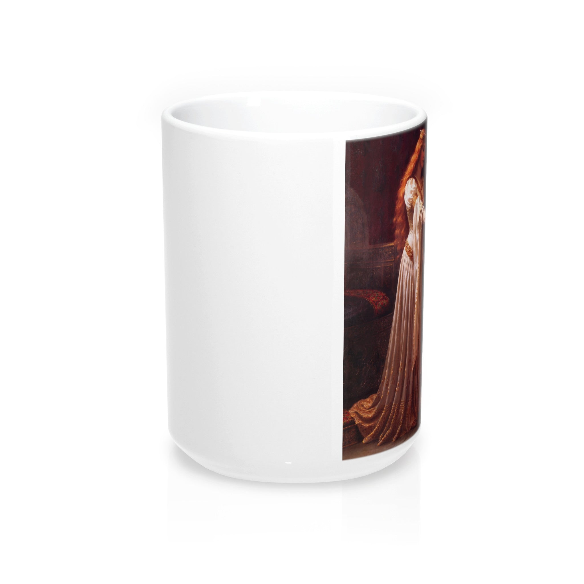 The Accolade by Edmund Leighton Coffee Mug 15oz.