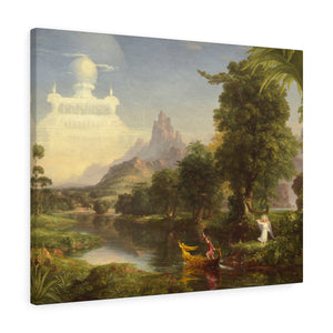 Voyage of Life - Youth, 1840 by Thomas Cole Canvas