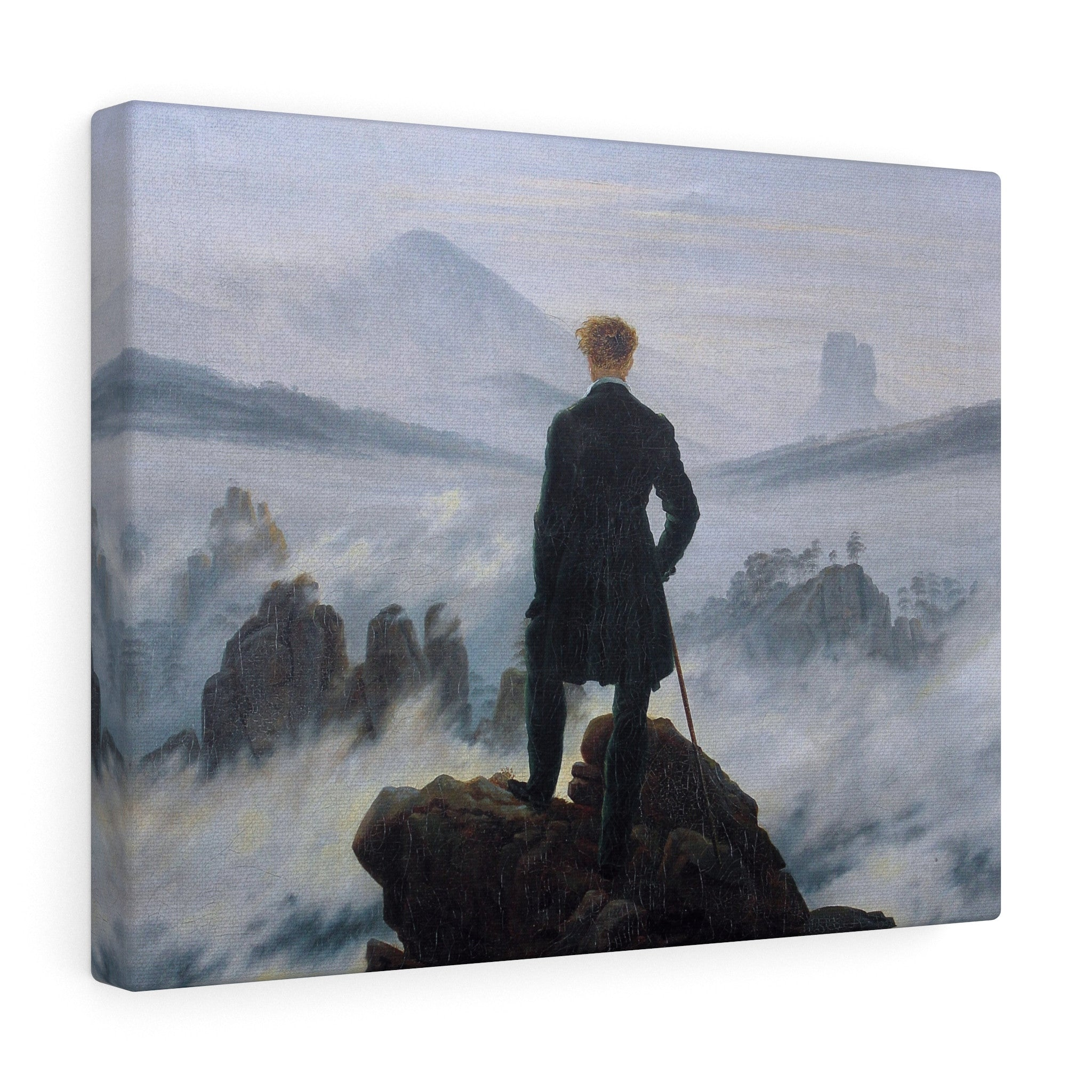 Wanderer Above The Sea Of Fog, 1818 by Caspar David Friedrich Canvas