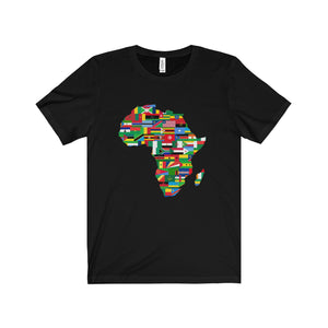 African Flags Continent Tee (2 colors available)
