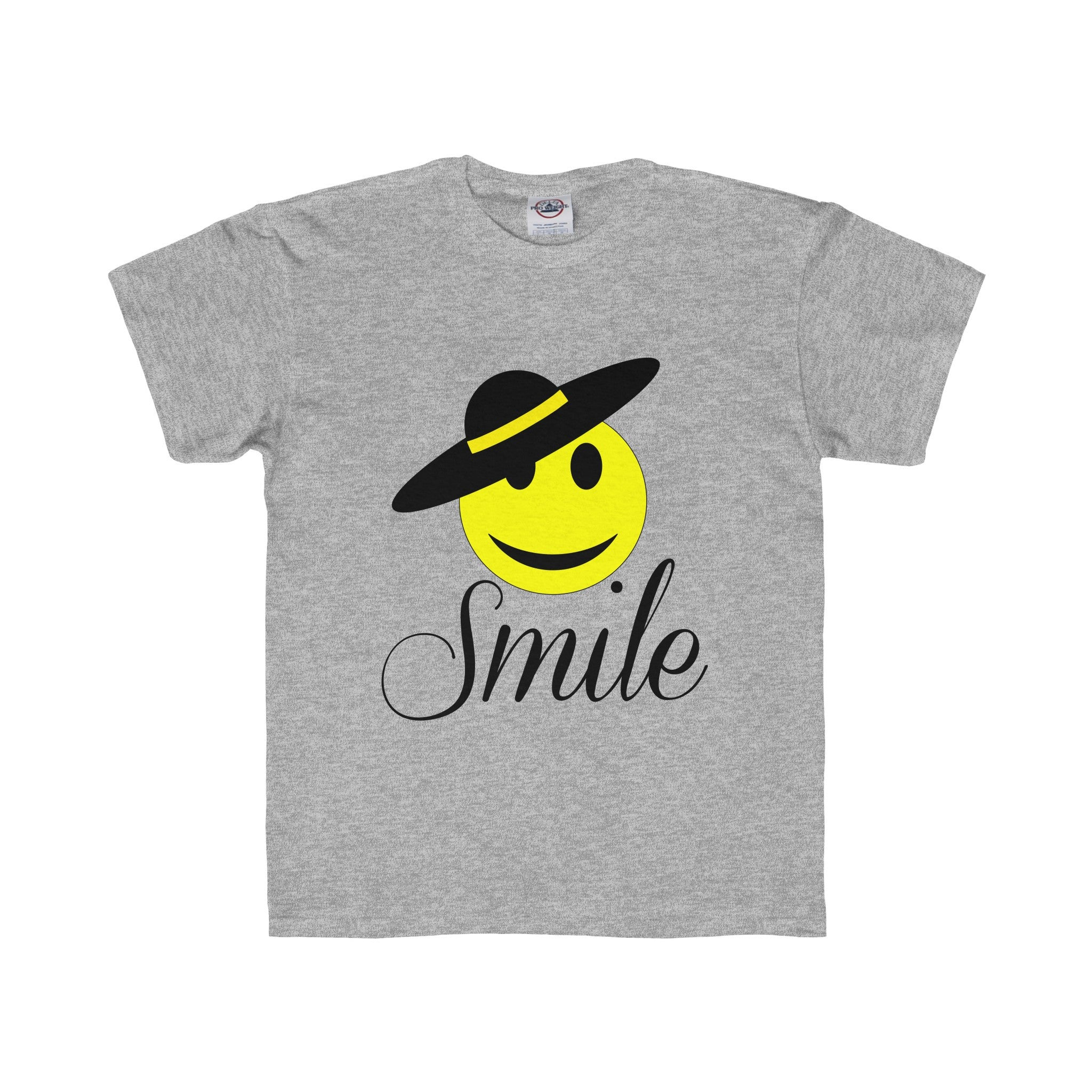 Little Miss Smiley Face Smile Tee (4 colors available)