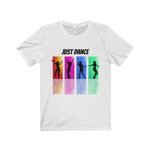 Just Dance Multicolor Design Tee (9 colors available)