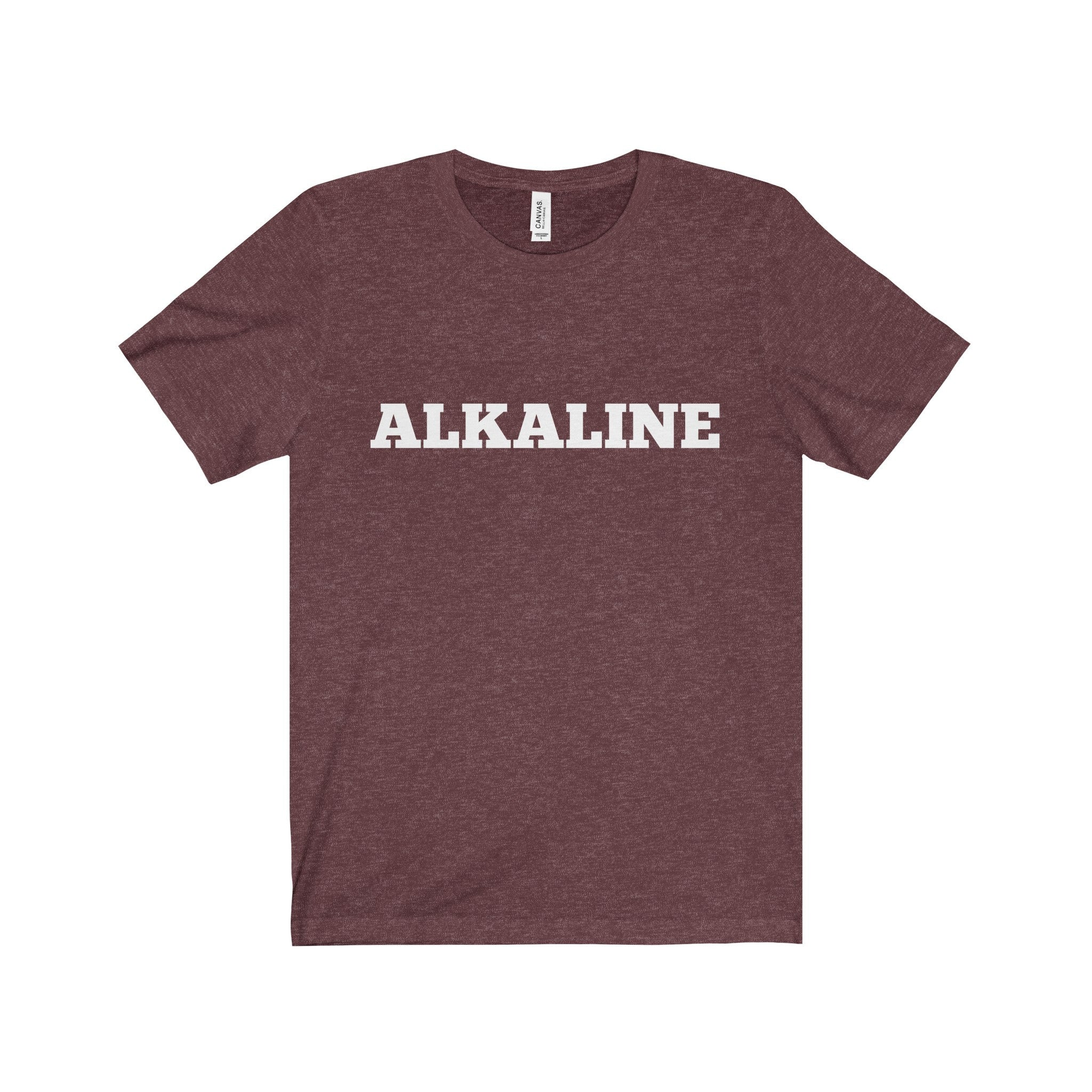 ALKALINE White Letter Tee (5 colors available)