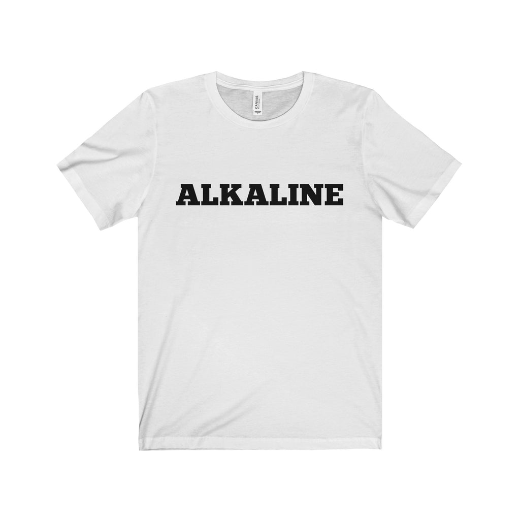 ALKALINE Black Letter Tee (5 colors available)