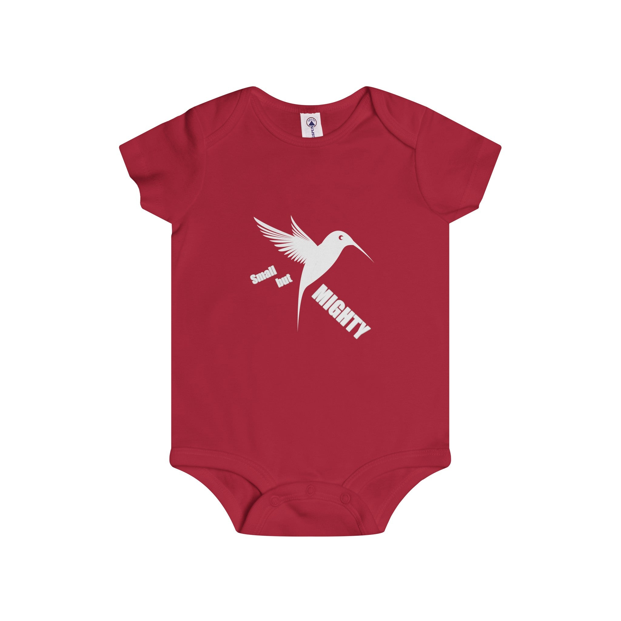 Small But Mighty White Design Onesie (4 colors available)