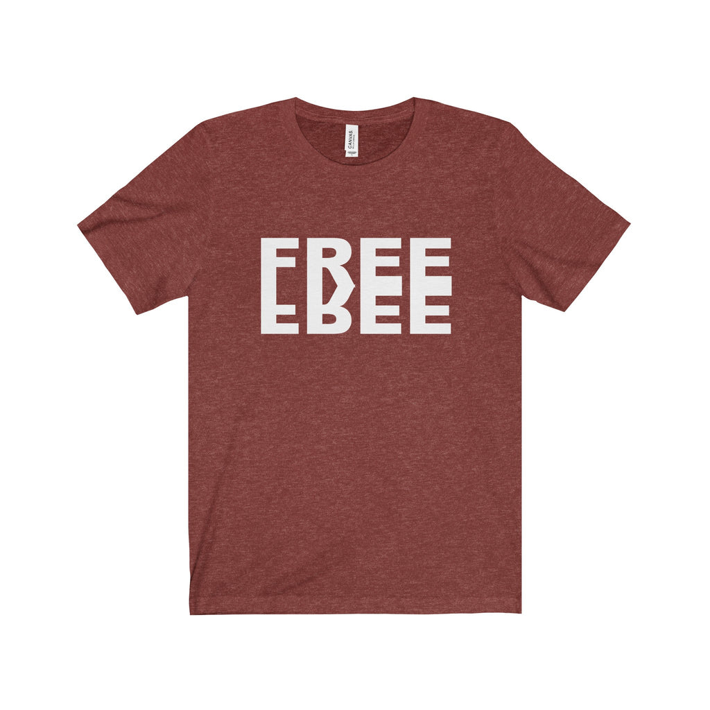 FREE White Letter Tee (5 colors available)