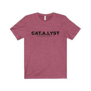CATALYST Black Letter Tee (6 colors available)