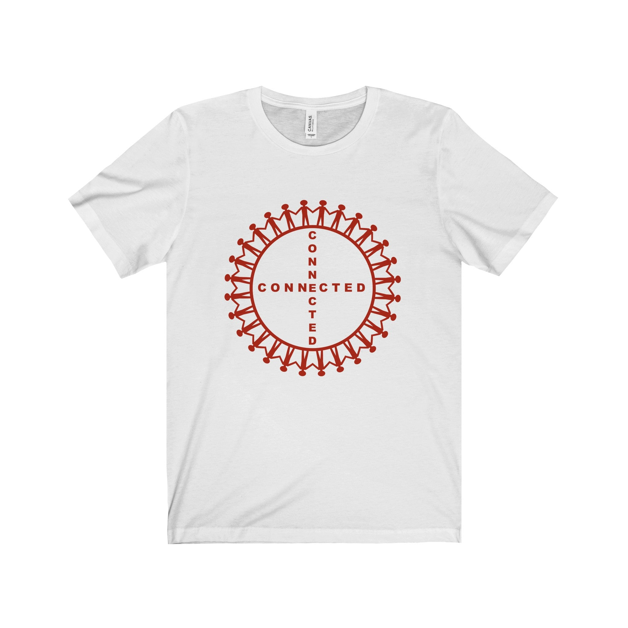 Connected Red Letter Tee (2 colors available)