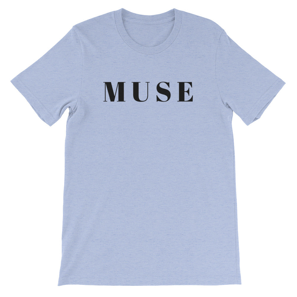 MUSE Black Letter Tee (5 colors available)