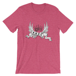 Winged Soul Unisex short sleeve t-shirt