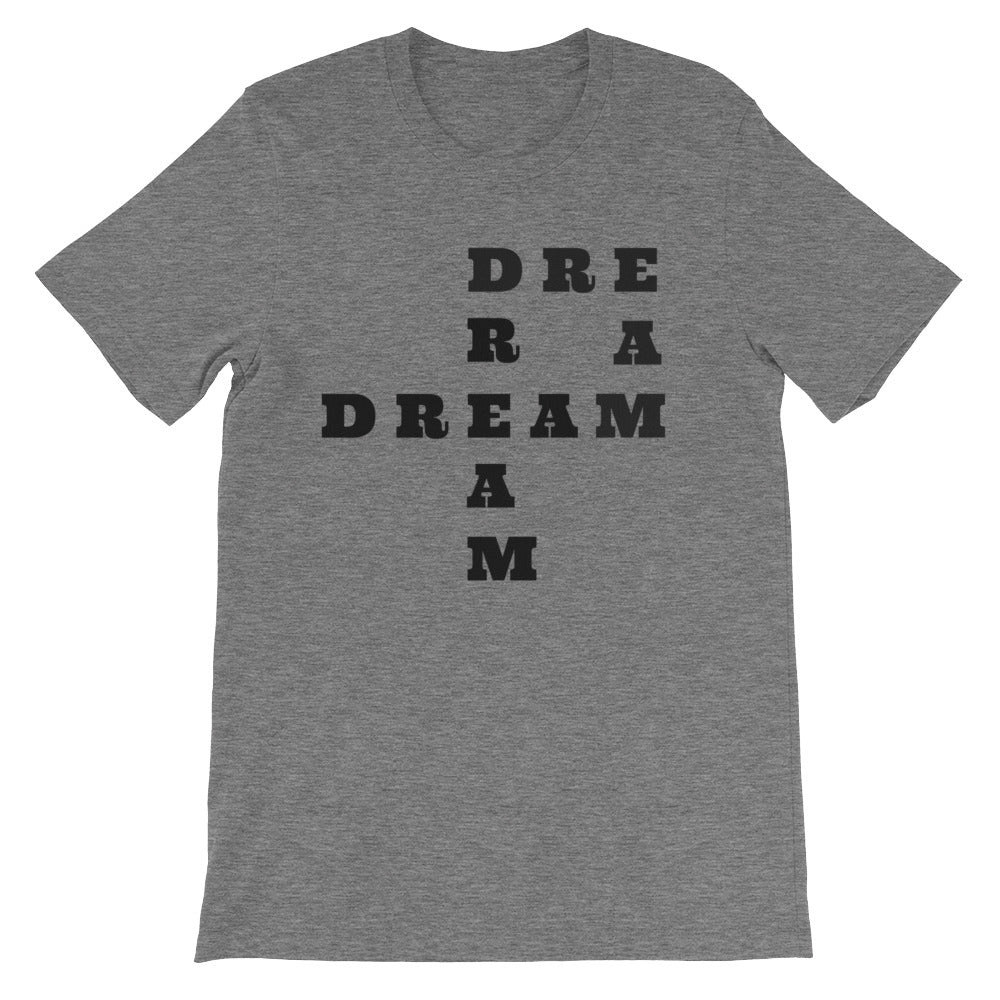 DREAM Black Letter Tee (5 colors available)