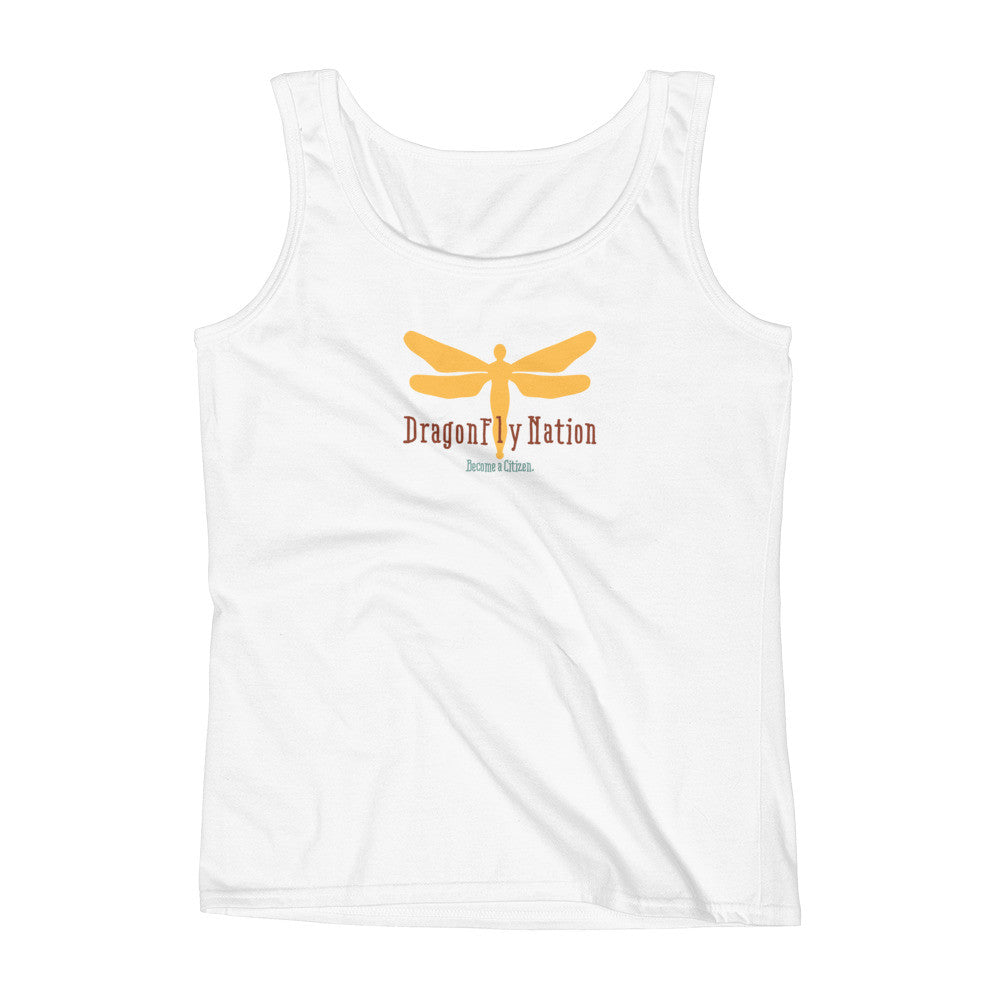 DragonFly Nation: Become a Citizen Women's Tank.
