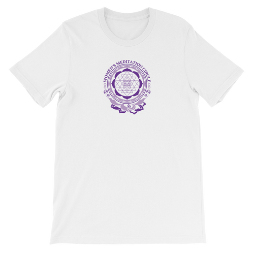 Sarasota Women's Meditation Circle Short-Sleeve Unisex T-Shirt / Tee Shirt from The BhakTee Life Brand.