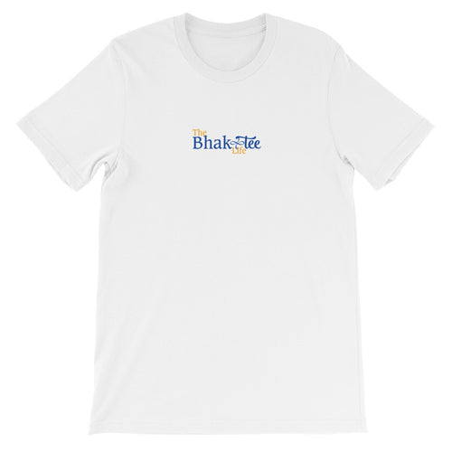 The BhakTee Life Logo Unisex Short Sleeve Tee Shirt.