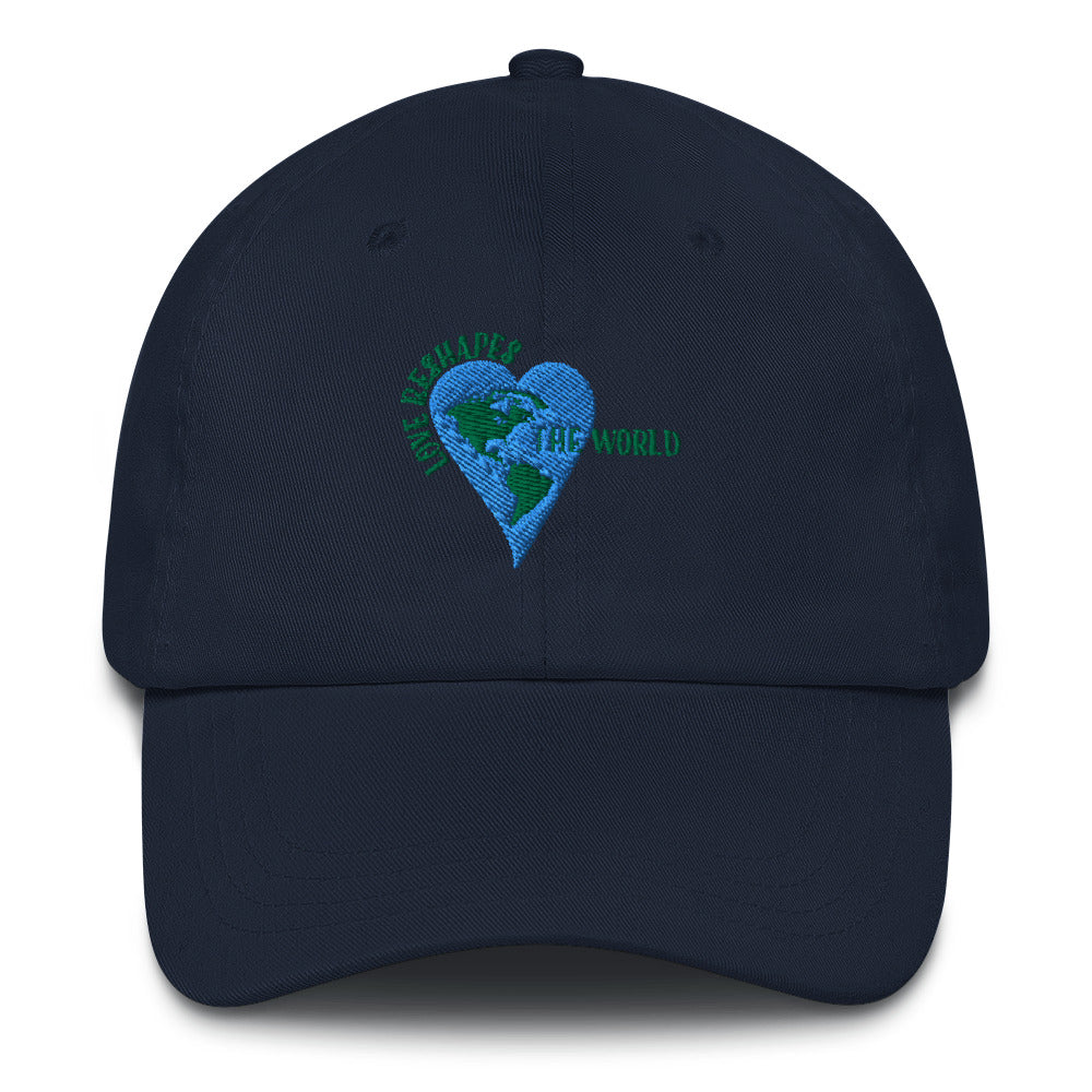 Love Reshapes The World Unisex Baseball Hat