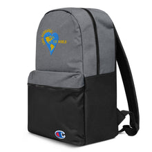 Love Reshapes the World Embroidered Champion Backpack