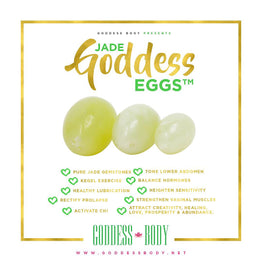 Goddess Eggs® Yoni Toning & Tightening Set of 3