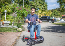 HoverBike Mobility Scooter Sitting Attachment to Hoverboard