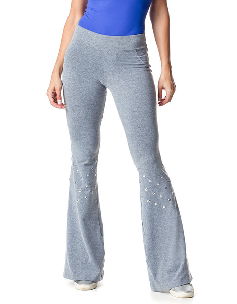 BALLERINA 35 LOVE SONG GREY FITNESS PANTS