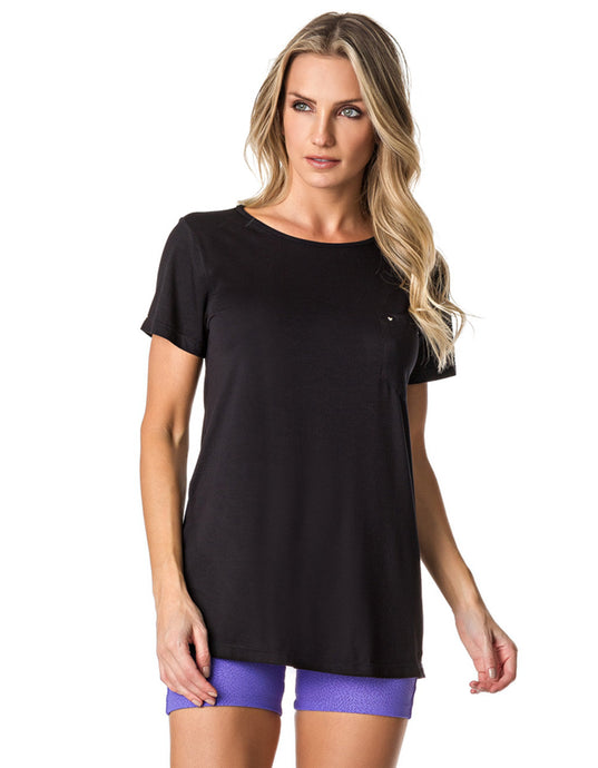 SHORT SLEEVE SHIRT 101 HEART BLACK