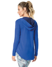 LONG SLEEVE SHIRT 96 SOME FUN ROYAL BLUE