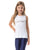 KIDS TANK TOP WHITE BRAID VESTEM