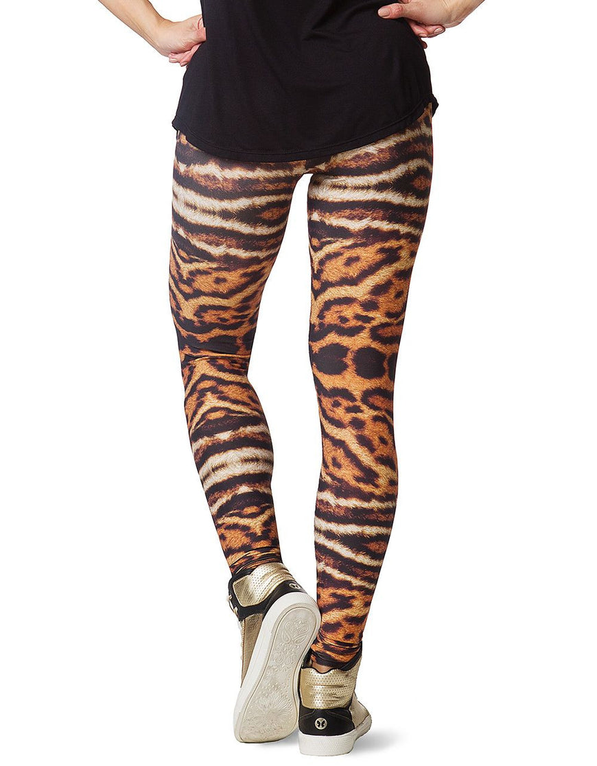 LEGGING 206 YOU BY YOU ANIMAL PRINT BROWN