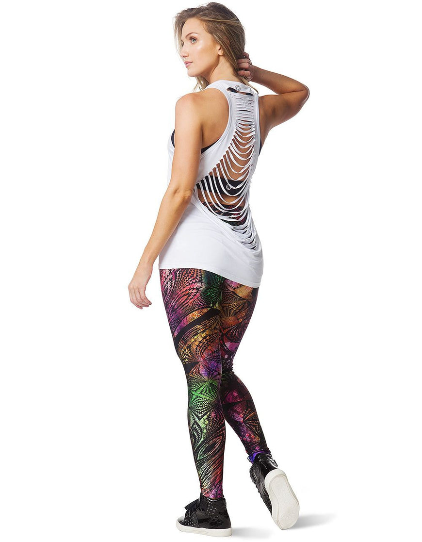 LEGGING 297 WITH POCKET MULTI COLORED