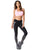Flash Black Ladies Leggings