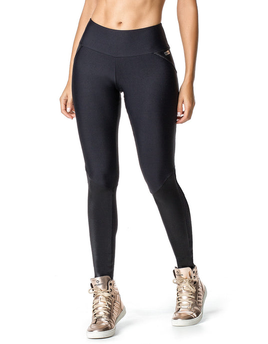 LEGGING  VESTEM 481 GYM DELUXE BLACK