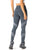 Grey compression exercise leggings