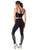 Exercise leggings women black
