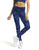 BLUE CAMOUFLAGE FRUFRU WAISTBAND LEGGINGS