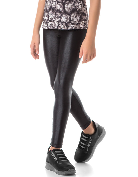 KIDS LEGGING BLACK BASIC CIRE VESTEM