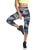BLACK ULTRA PRINTED CAPRI LEGGINGS 56
