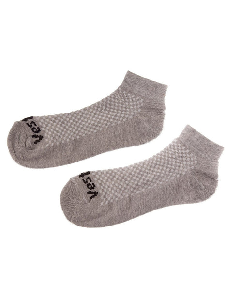 SOCKS 01 LOW RISE GREY
