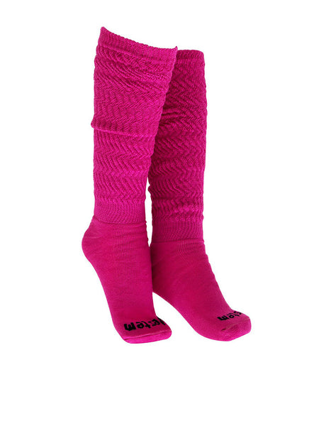SOCKS 04 AEROBIC LONG PINK