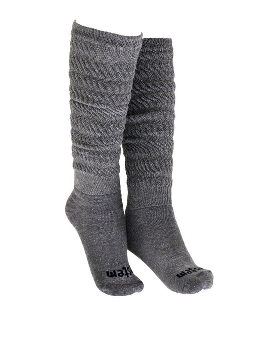 SOCKS 04 AEROBIC LONG DARK GREY