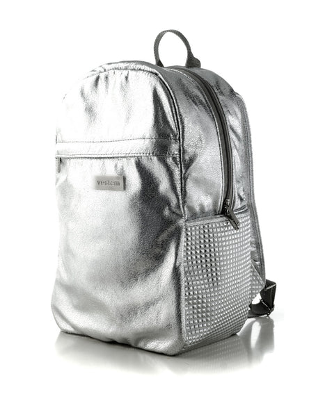 BACKPACK 05 SILVER BAG