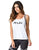 TANK TOP 250 RUN WHITE